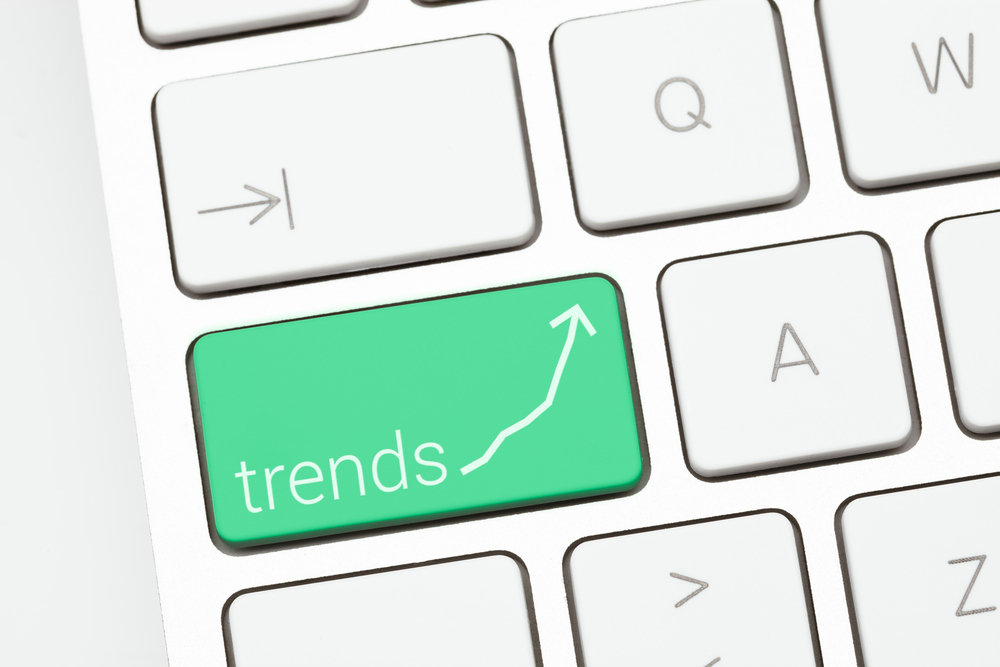 Image of Trends being a key on a keyboard