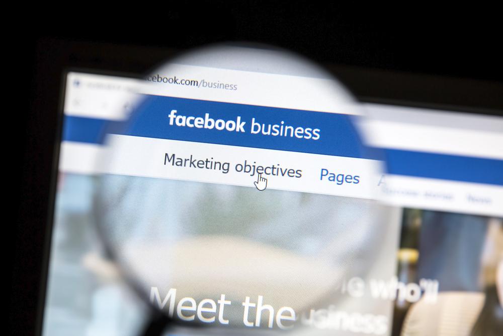 Facebook Advertising Screenshot
